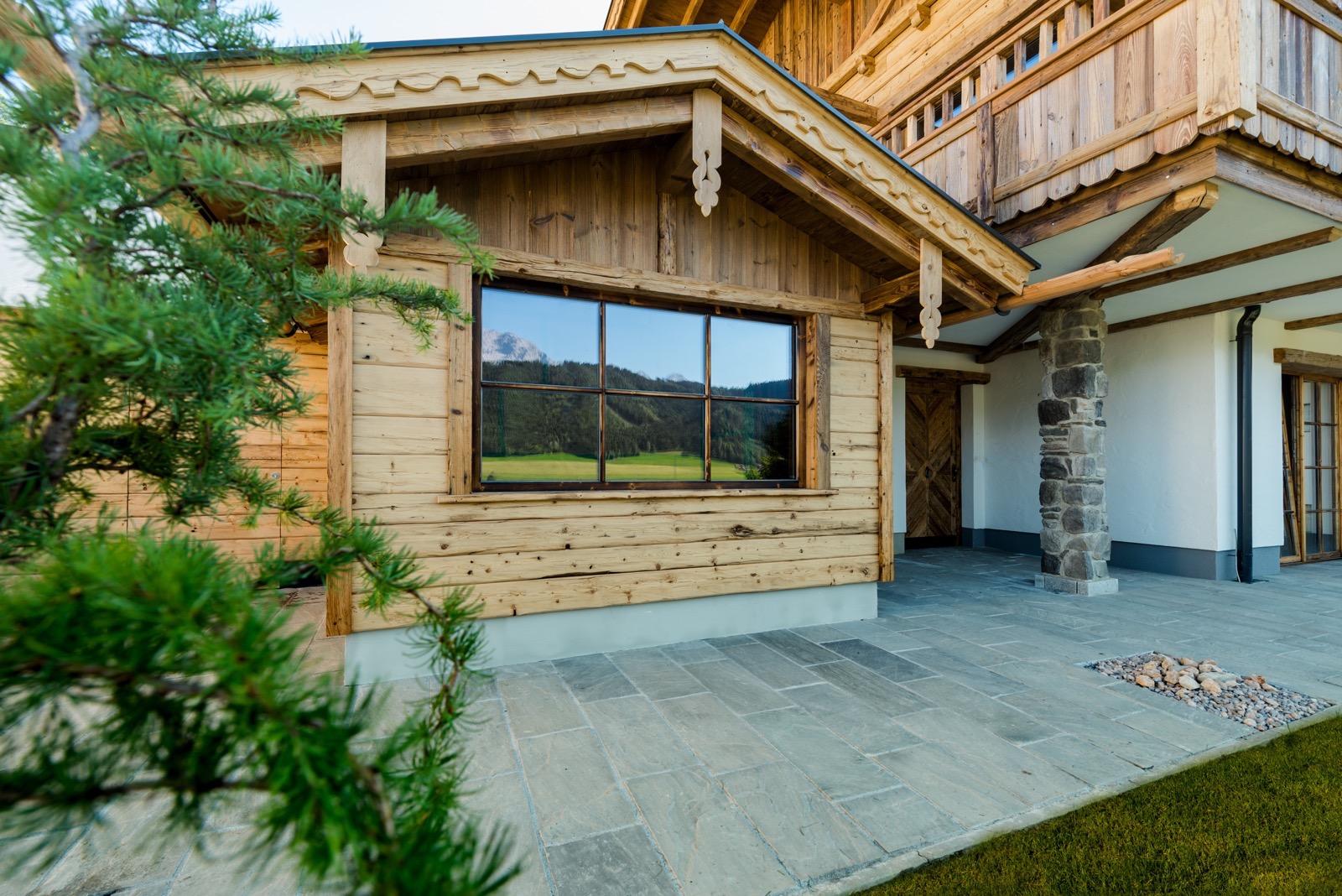 Private Spa Sauna im Chalet an der Skipiste