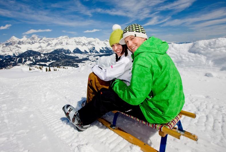 Winterurlaub mit Kindern Luxus Chalet