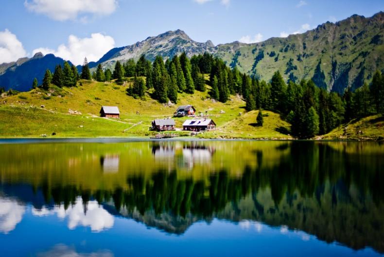 Wanderurlaub in Schladming Das Chalet in den Bergen